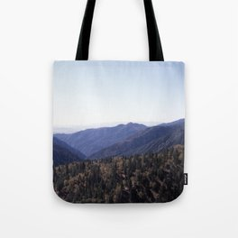 Hillside of Trees Tote Bag