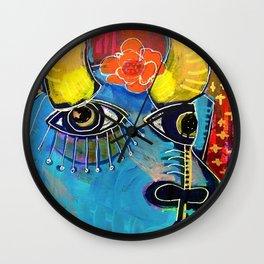 Spanish Bull Wall Clock