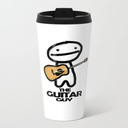 The Guitar Guy Metal Travel Mug
