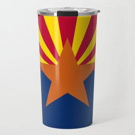 Arizona: Arizona State Flag Travel Mug