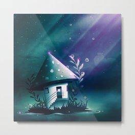 Magic Mush Room Metal Print