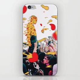 XXXpizza iPhone Skin