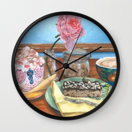 ''Catching Up'' Wall Clock