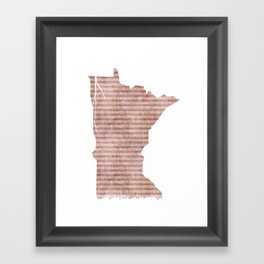 Minnesota Framed Art Print