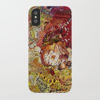 superheros iPhone & iPod Cases featuring BoooM by MelissaMoffatCollage