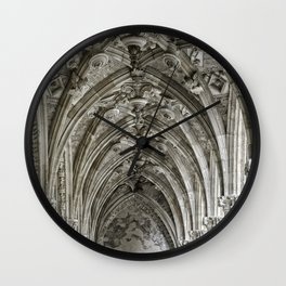 Leon Cathedral Wall Clock