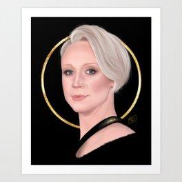 Gwendoline Art Print