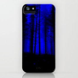 fantasy forest at night iPhone Case