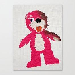 Breaking Bad Teddy Bear Canvas Print