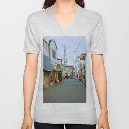 Tokyo Street Unisex V-Neck