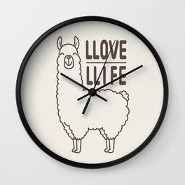 Love Life Wall Clock