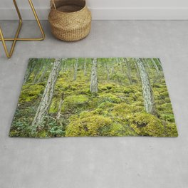 Mossy Forest Floor Rug