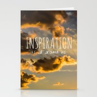 inspiration Stationery Cards featuring Inspiration by Michelle McConnell