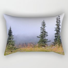 High Upon A Mountain Rectangular Pillow