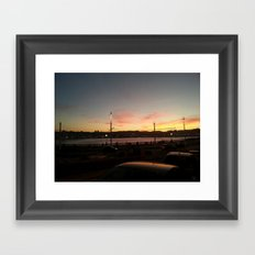 SOLPOR Framed Art Print