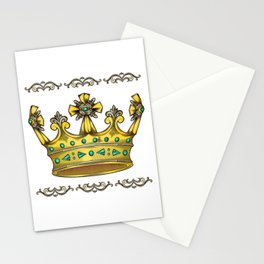 Royal Crown Stationery Cards