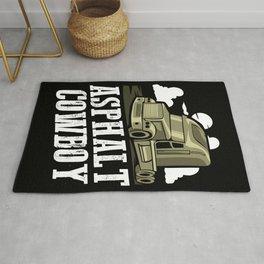 Asphalt Cowboy | Trucker Rug
