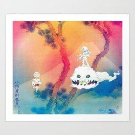 Kids See Ghost Art Print