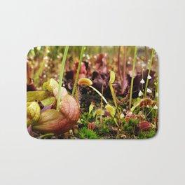 Carnivorous plant #2 Bath Mat