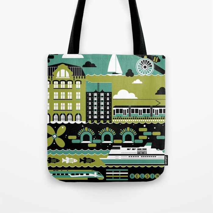 Helsinki Tote Bag
