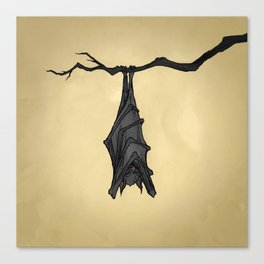 Little Bat Canvas Print