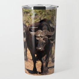 Cape Buffalo. Travel Mug