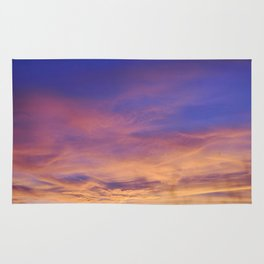 COME AWAY WITH ME - Autumn Sunset #1 #art #society6 Rug