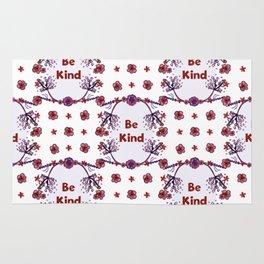 Be Kind - A Floral Pattern Rug