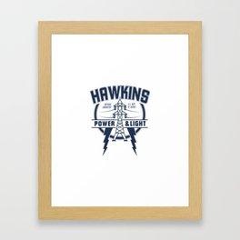 hawkins Framed Art Print