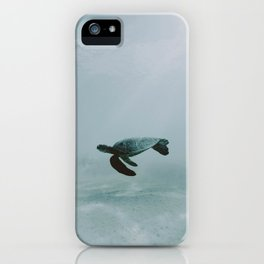 Sea Turtle II / Kailua-Kona, Hawaii iPhone Case