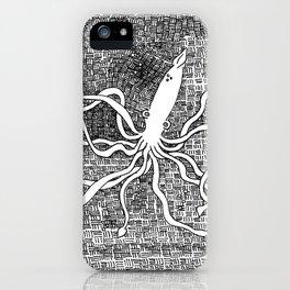 Giant Squid iPhone Case
