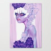 moth Canvas Prints featuring MOTH by OSKAR V.