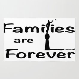 Families Are Forever Rug