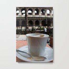 Colosseum Cappuccino Metal Print