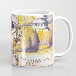 1913 Women's rights march Washington Coffee Mug