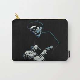 Bongo Beatin' Beatnik (Blue) Carry-All Pouch