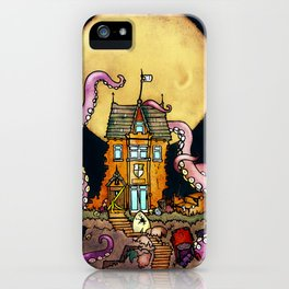 The Midnight Chateau iPhone Case