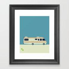 The Breaking Bad RV Framed Art Print