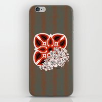 mid century iPhone & iPod Skins featuring Mid Century Hawaiian by Vikki Salmela