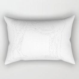 German-Pinscher-tshirt,-just-freaking-love-my-German-Pinscher Rectangular Pillow