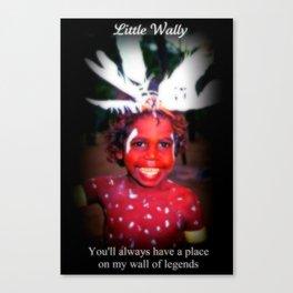 RIP Wally Canvas Print