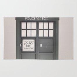 Vintage Police Box Rug