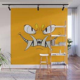 Yellow-Orange Monster Wall Mural