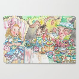 Alice's Mad Tea Party Cutting Board