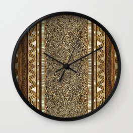 Old fragment  Wall Clock