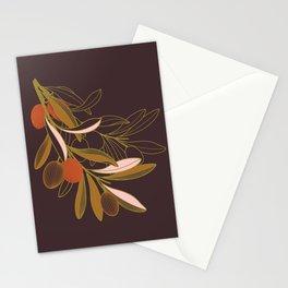 Olive branch Stationery Cards