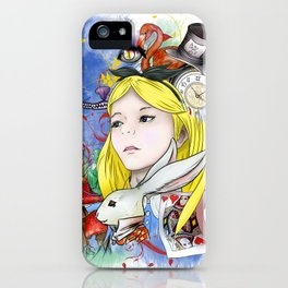 Alice's Adventure in Wonderland iPhone Case