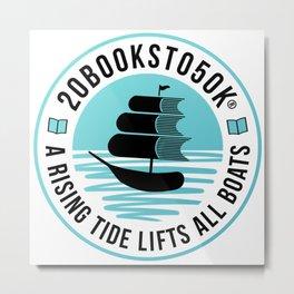 20Booksto50k(R)-Logo1 Metal Print