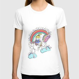 Rainbowbrite by aldanita T-shirt