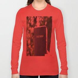 Holy Bible w/ bokeh Long Sleeve T-shirt